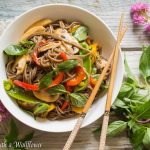 Mixed Vegetable Soba Noodle