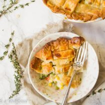 Root Vegetable Pot Pie | Cooking with a Wallflower