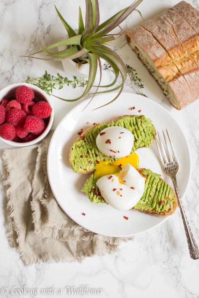 Avocado Toast with Soft Boiled Egg | Cooking with a Wallflower