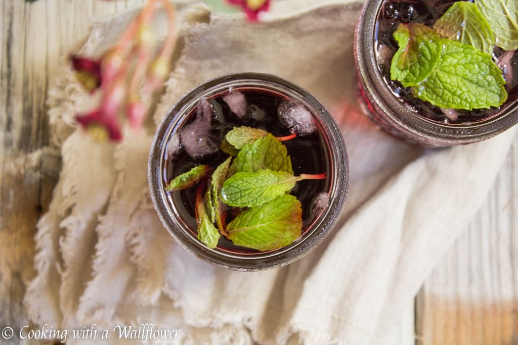 Pomegranate Mint Mimosas   Cooking with a Wallflower