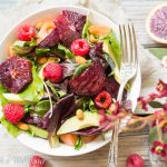 Roasted Beet Salad with Blood Orange Balsamic Vinaigrette