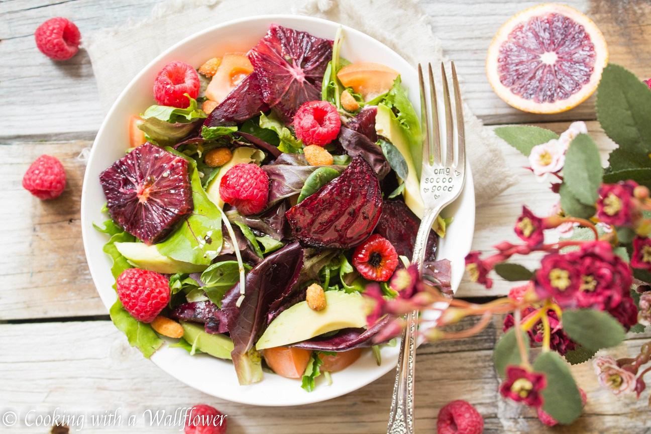 Roasted Beet Salad with Blood Orange Balsamic