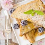Cookie Butter Stuffed French Toast