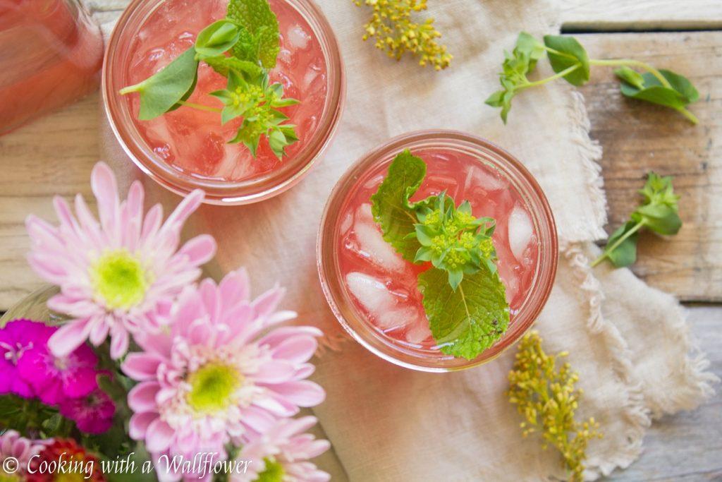 Grapefruit Hibiscus Lemonade | Cooking with a Wallflower
