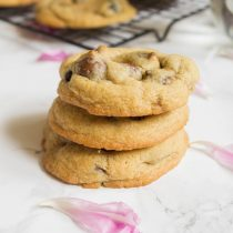 Cherry Chocolate Chip Cookies | Cooking with a Wallflower
