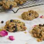 Wild Blueberry Pistachio Oatmeal Cookies