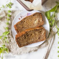 Banana Espresso Bread | Cooking with a Wallflower