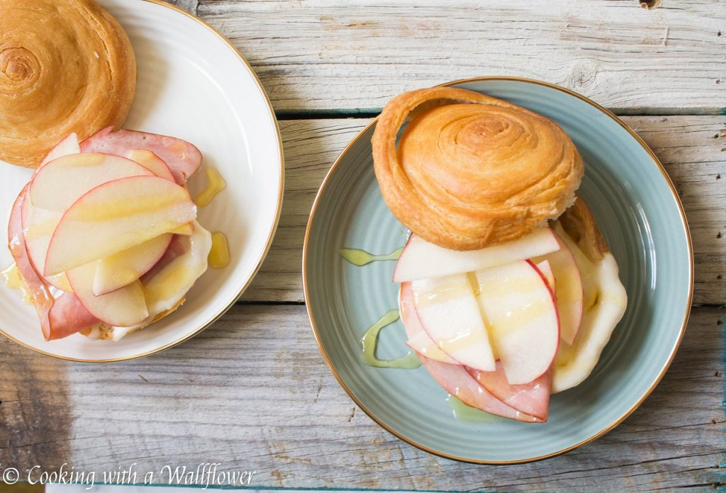 Honey Apple Ham Croissant Melts | Cooking with a Wallflower