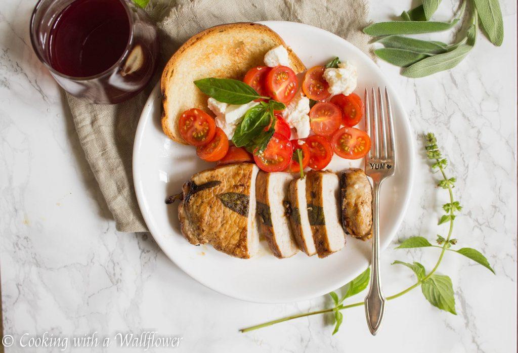 Brown Sugar Glazed Sage Pork Loins  | Cooking with a Wallflower