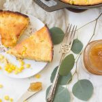 Cast Iron Skillet Honey Maple Cornbread