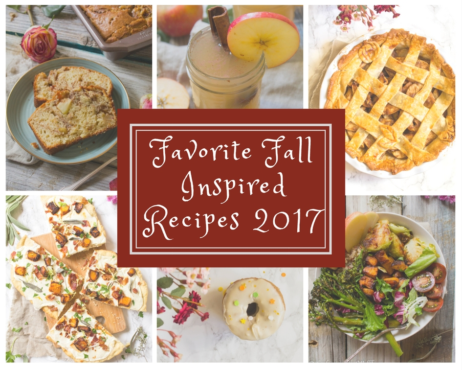 Favorite Fall Inspired Recipes 2017  | Cooking with a Wallflower