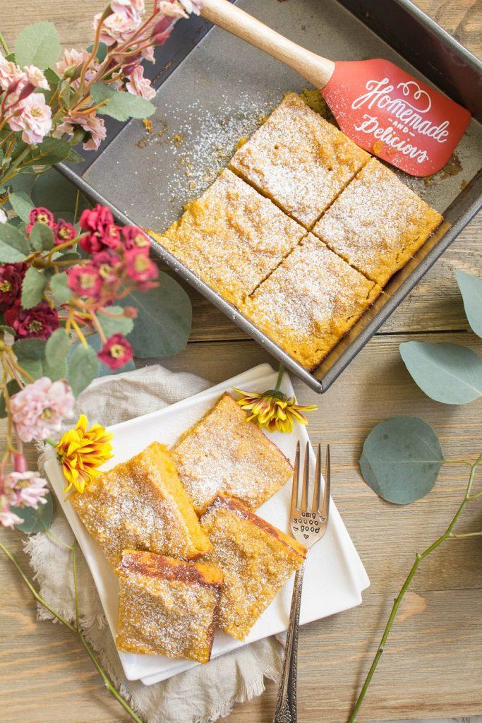 Pumpkin Maple Cassava Cake  | Cooking with a Wallflower