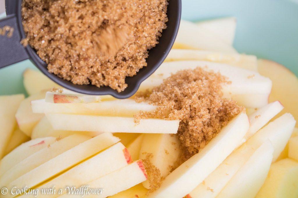 Apple Cobbler à la Mode | Cooking with a Wallflower