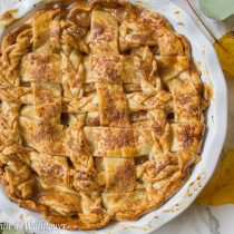 Honey Pear Pie | Cooking with a Wallflower