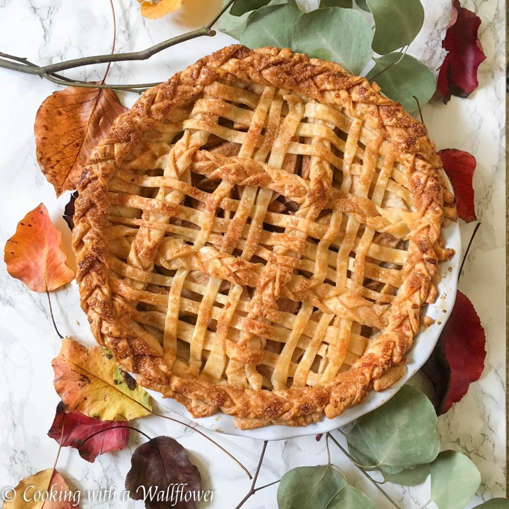 Honey Pear Pie
