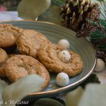Candy Cane Caramel Stuffed Cookie Butter Cookies + Giveaway