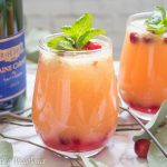Cranberry Orange Mimosas | Cooking with a Wallflower