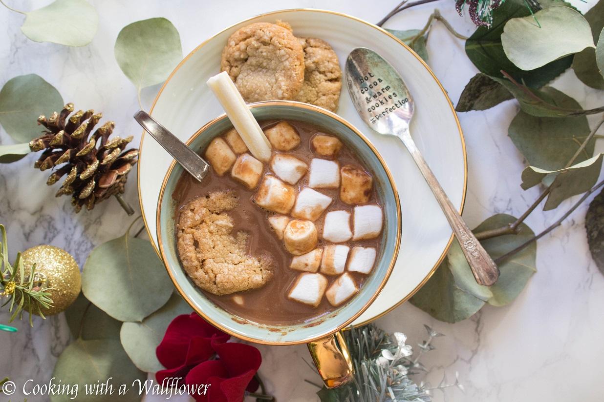 Hot Chocolate Oatmeal Latte