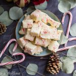 Peppermint White Chocolate Fudge