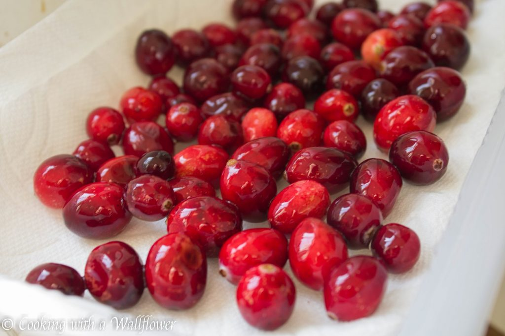 Sparkling Sugar Coated Cranberries | Cooking with a Wallflower