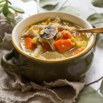 Chicken Vegetable Quinoa Soup | Cooking with a Wallflower