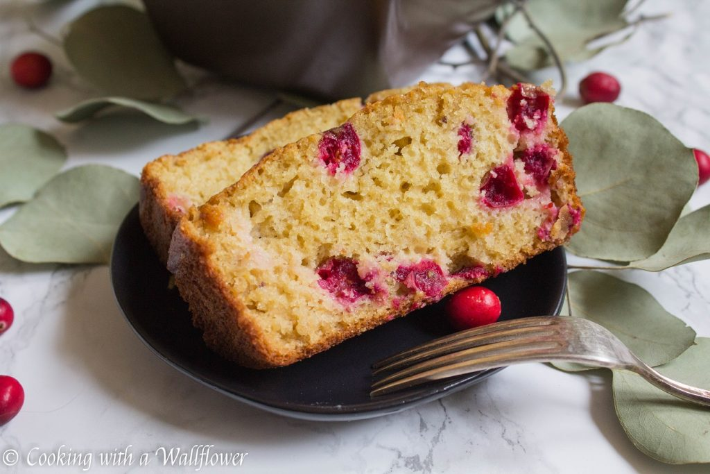 Cranberry Orange Bread | Cooking with a Wallflower
