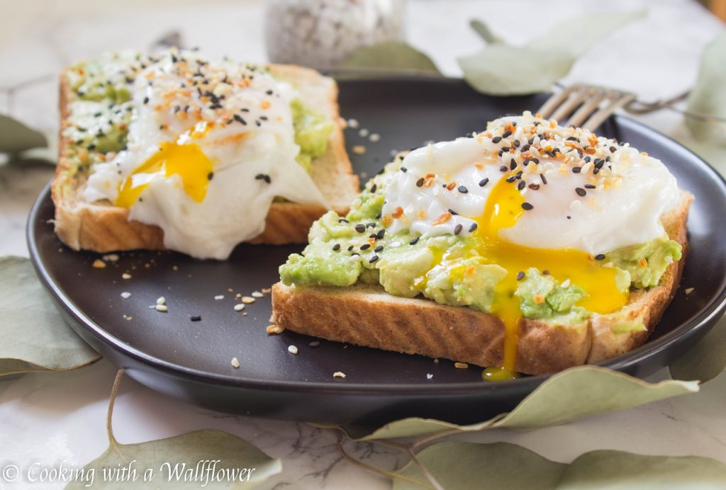 Everything Spice Poached Egg Avocado Toast | Cooking with a Wallflower