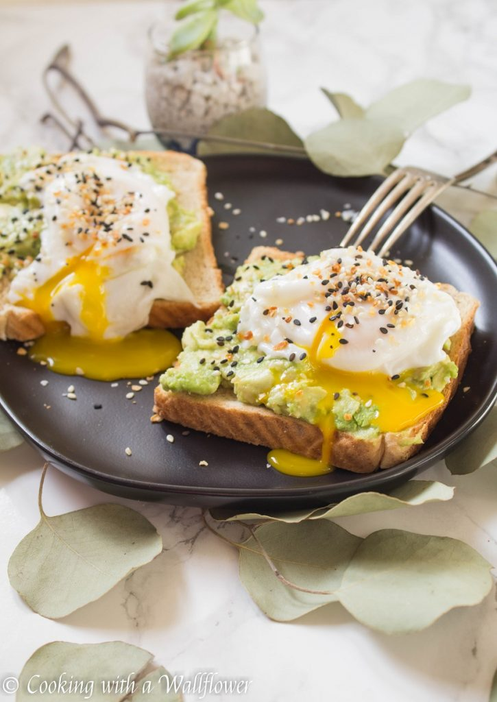 Everything Spice Poached Egg Avocado Toast   Cooking with a Wallflower