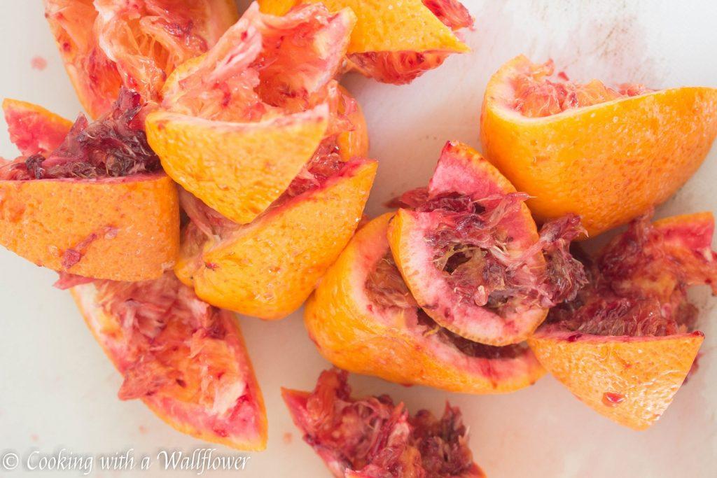 Blood Orange Vodka Soda | Cooking with a Wallflower