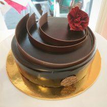 Ginger Elizabeth's Valentine's Entremet Cake