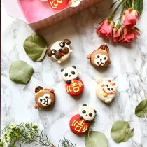 Lunar New Year Macarons
