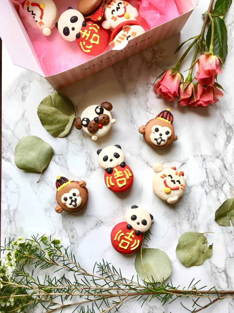 Lunar New Year Macarons