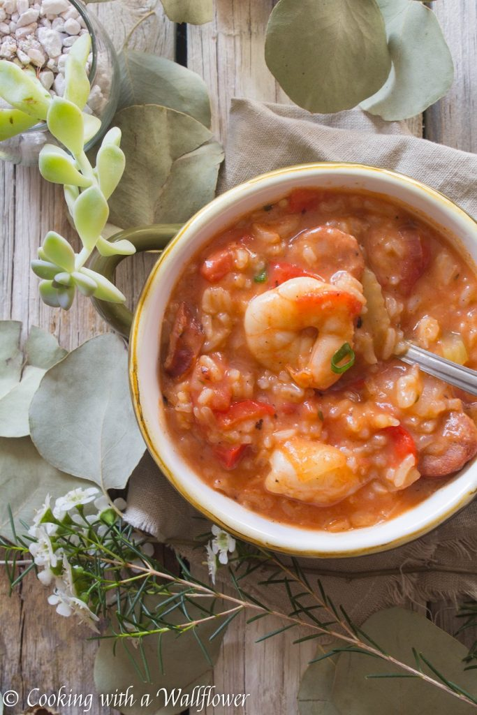 Shrimp Jambalaya Soup   Cooking with a Wallflower