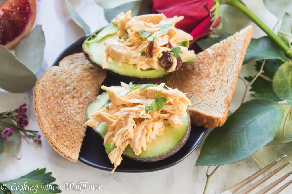Spicy Chicken Salad in Avocado | Cooking with a Wallflower