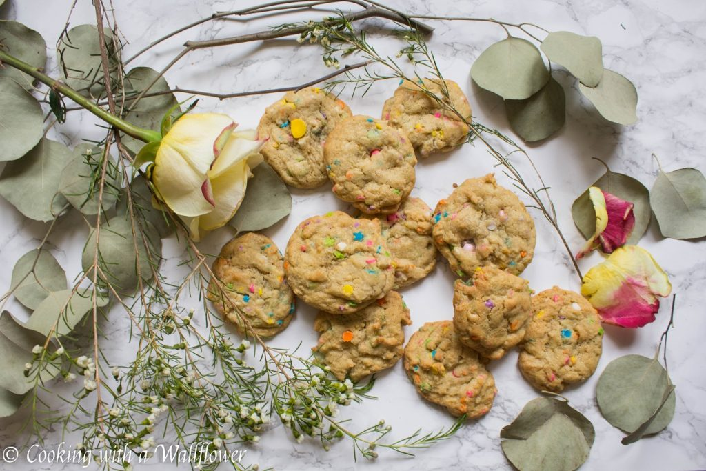 Funfetti Cookies  | Cooking with a Wallflower