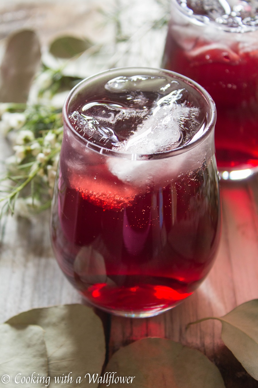 Pomegranate hibiscus vodka iced tea cooking with a for California iced tea recipe