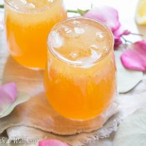 Earl Grey Iced Tea Lemonade | Cooking with a Wallflower