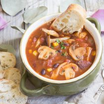 Mushroom Medley Chili | Cooking with a Wallflower