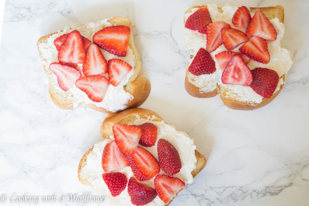 Strawberries n' Cream Stuffed French Toast | Cooking with a Wallflower