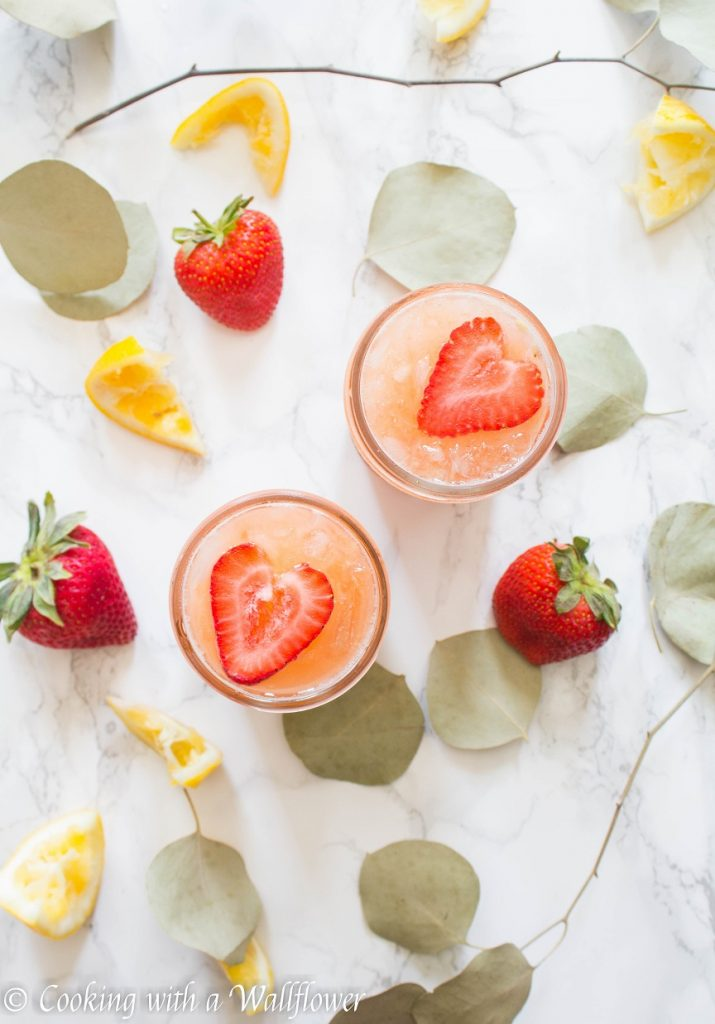 Strawberry Orange Lemonade   Cooking with a Wallflower