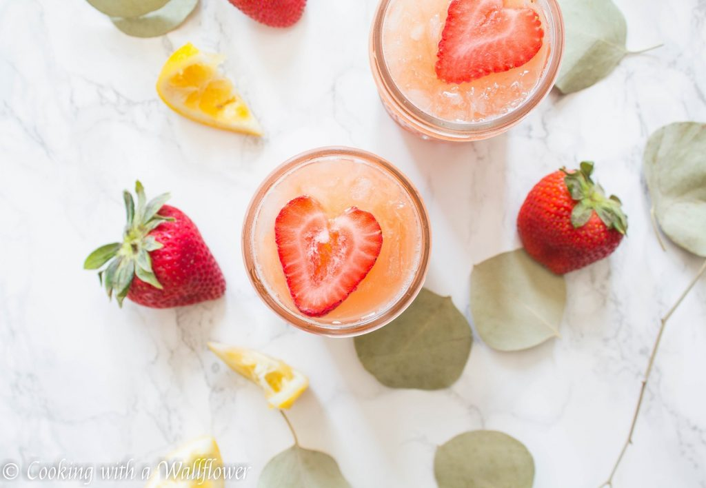 Strawberry Orange Lemonade | Cooking with a Wallflower