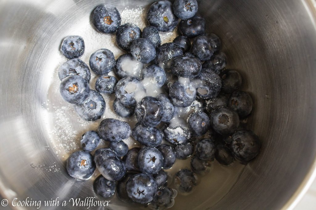 Blueberries and Cream Steel Cut Oatmeal | Cooking with a Wallflower