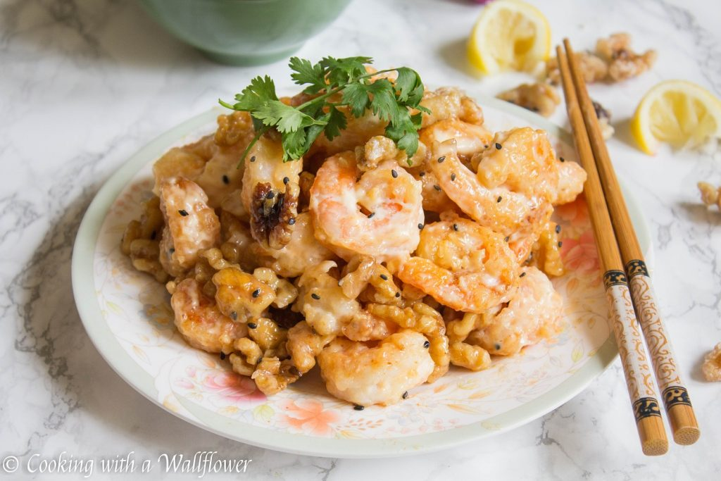 Honey Walnut Shrimp | Cooking with a Wallflower