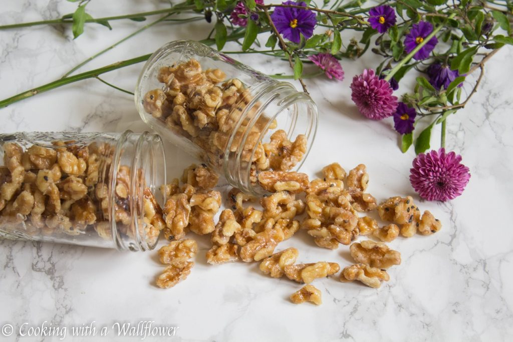 Toasted Candied Walnuts | Cooking with a Wallflower