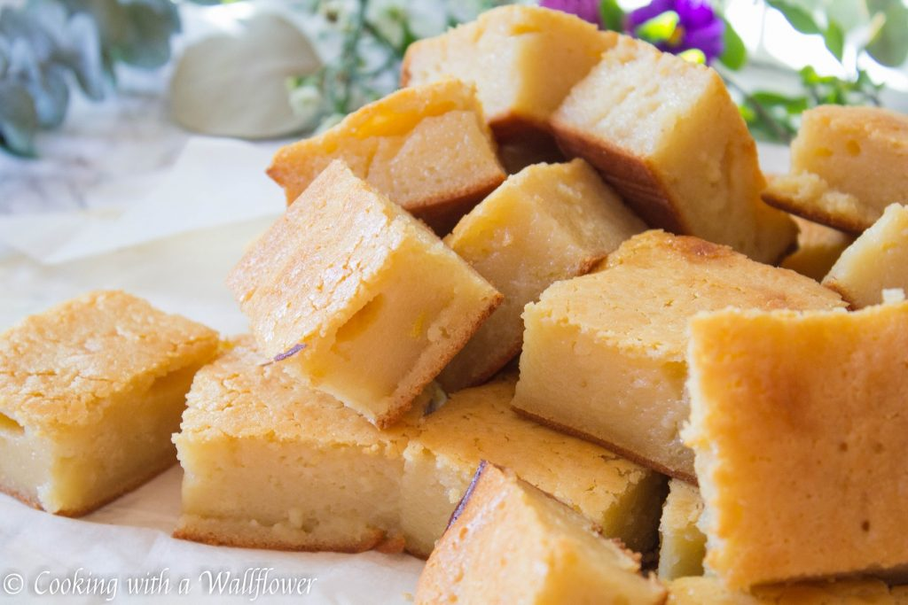 Butter Mochi Cake | Cooking with a Wallflower