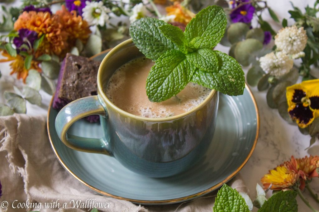 Mint Mojito Latte | Cooking with a Wallflower