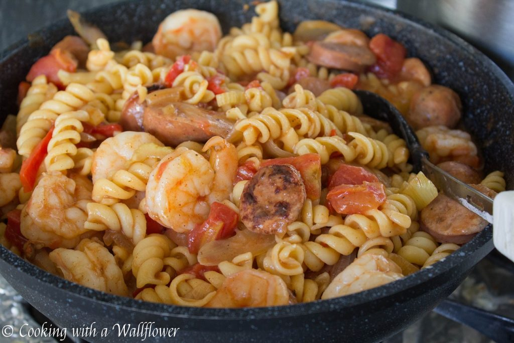 Pasta Jambalaya | Cooking with a Wallflower