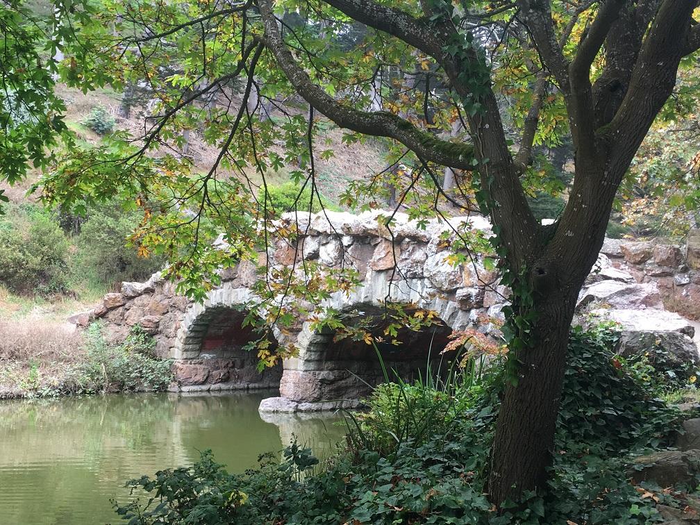 Stow Lake Bridge