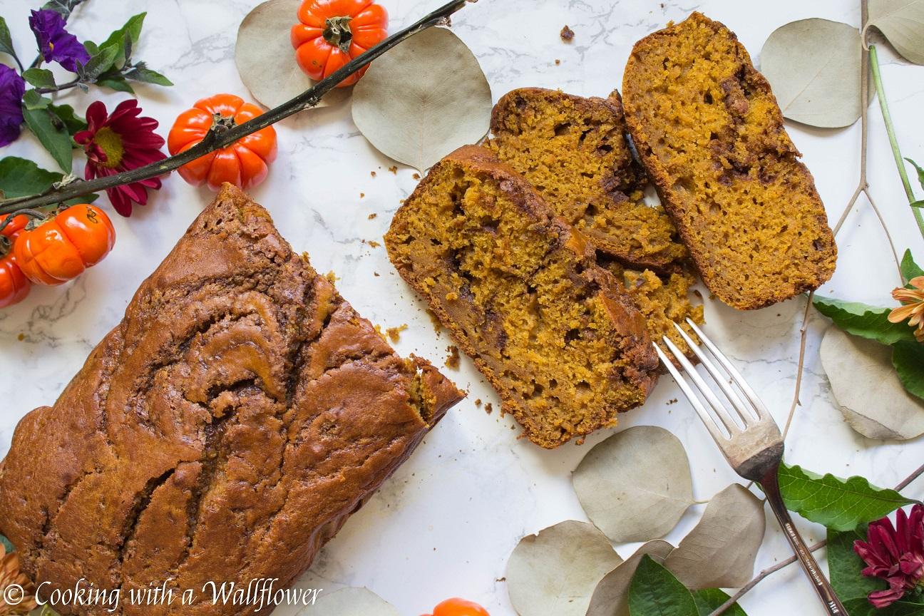 Cinnamon Swirled Maple Pumpkin Bread