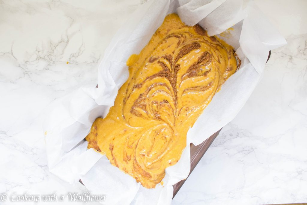 Cinnamon Swirled Maple Pumpkin Bread | Cooking with a Wallflower